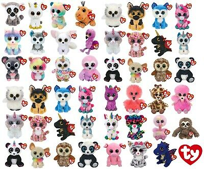 Genuine Ty Beanie Boos 6  Plush Soft Toy Teddy Kids Children Gift Birthday Gift • 8.49£