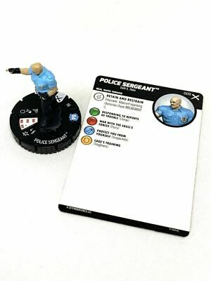 009 Earth X - Police Sergeant - Common HeroClix • 1.52£