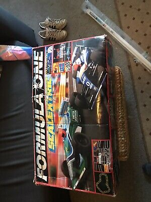 Hornby Formula One Scalextric Complete Boxed Set • 10£
