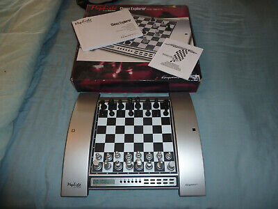 Mephisto Explorer Pro Electronic Chess Computer - Boxed - Excellent Condition • 65£