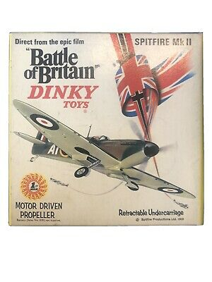 Dinky 719 Spitfire MkII, Good Condition In Original Battle Of Britain Box • 124.99£