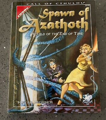 Spawn Of Azathoth. Call Of Cthulhu RPG Chaosium 2005 Sofcover • 11£