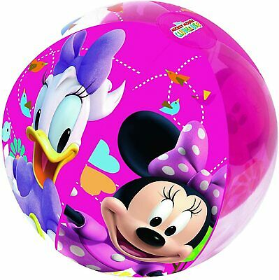 Mickey Mouse Clubhouse Minnie Mouse And Daisy Beach Ball • 6.99£