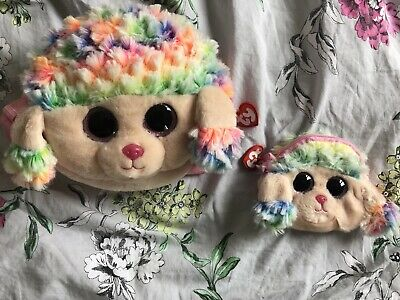 Ty Rainbow Poodle Bag And Purse • 3.50£