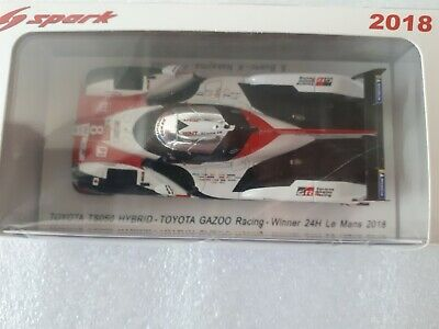 Spark 1:43rd Scale 43LM18 - Toyota TS050 - Le Mans Winner 2018 • 65£