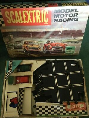 Scalextric Triang Austin Mini- Cooper Set 45 In Good Used Condition+ Extras 1967 • 550£