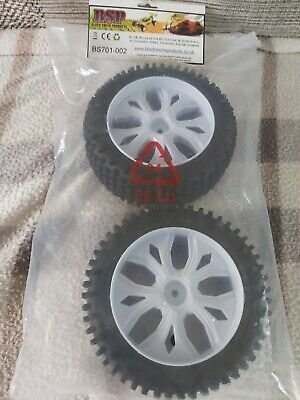 RC 1/8 Off Road Buggy Tyres And Wheels Brand New In Packet X2 L@@K. • 6£