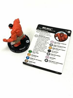 010 Fantastic Four - Red Hulk - Common HeroClix • 1.52£