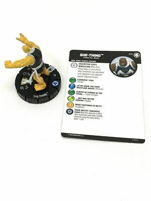 012 Fantastic Four - She-Thing - Common HeroClix • 1.52£