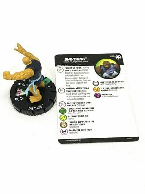 028 Fantastic Four -- She-Thing- Uncommon HeroClix • 2.52£
