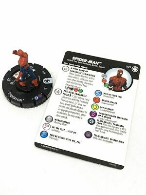 009 Fantastic Four - Spider-Man - Common HeroClix • 1.52£