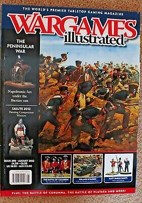 WARGAMES ILLUSTRATED MAGAZINE - ISSUE 298 - August 2012 • 1.50£