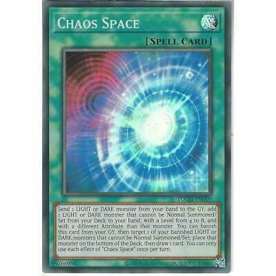 TOCH-EN009 Chaos Space | Unlimited | Super Rare YuGiOh Trading Card Toon Chaos • 4.75£