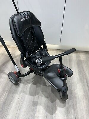 SmarTrike 7 Urban Folding Baby Tricycle, Black • 20£