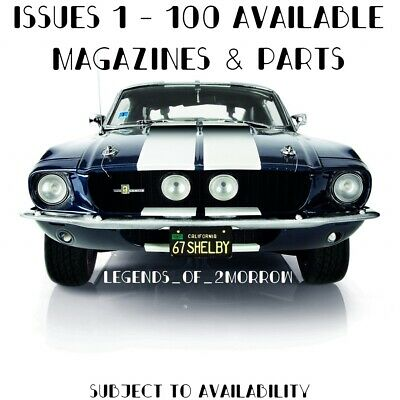 Deagostini Build Your Own Ford Mustang 1967 Shelby Gt-500 - New Sealed • 18.50£
