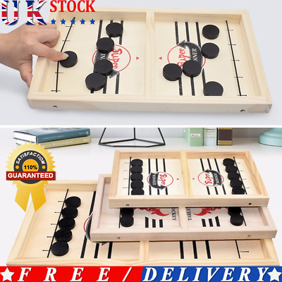 Table Hockey Game Family Games Catapult Chess Parent-child Interactive Funny Toy • 9.39£