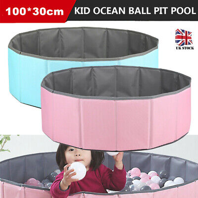 Large Foldable Kids Game Play Toy Tent Ocean Ball Pit Pool Children Baby Indoor • 21.99£