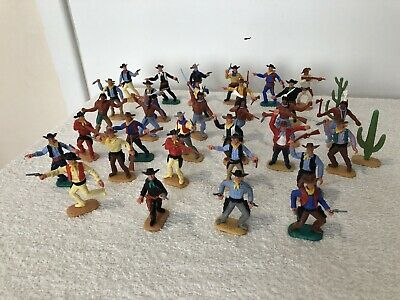 Timpo Cowboys And Indians Lot 2 • 60£