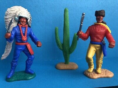Timpo Indian Chief And Trapper  • 0.99£