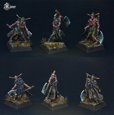 Confrontation Drune Wraiths X 3 (Undead Barbarians, Chaos, Zombies, OOP) • 99.99£