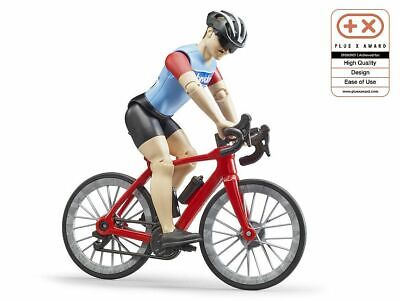 Bike Bicycle Road & Cyclist Figure - Bruder 63110 Scale 1:16 NEW RELEASE • 15.95£