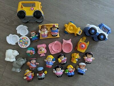 Fisher Price Little People Collection Figures Animals Vehicles Furniture Flowers • 0.99£