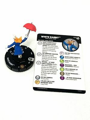043 Spider-man Venom - White Rabbit - Rare HeroClix • 6.06£