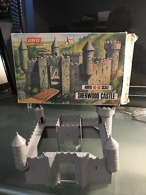 Vintage Airfix Sherwood Castle Kit - OO / HO Scale - Boxed Incomplete • 12.50£