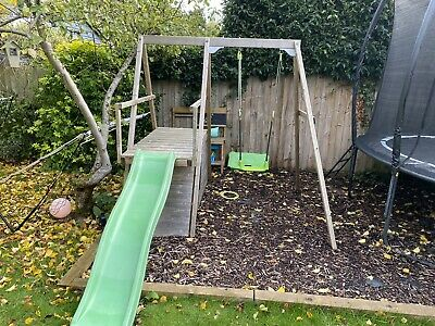 Outdoor Climbing Frame, Slide And Swing • 59£