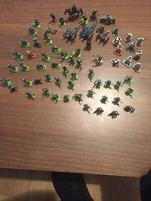 1:72 Scale WW2 Figures German Army X 60+ And Artillery X 3 Painted. • 10£