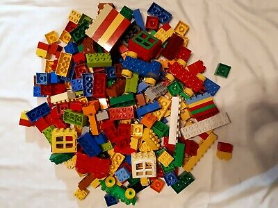 Lego DUPLO - A 1/4 Kilo SELECTION OF MIXED BRICKS PIECES BLOCKS From Picture • 8.59£