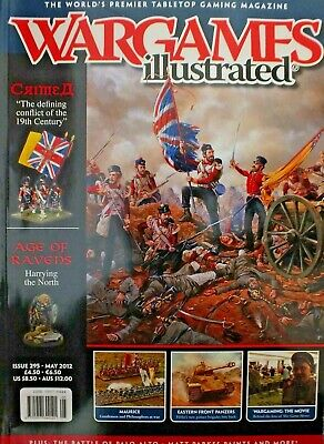 WARGAMES ILLUSTRATED MAGAZINE - ISSUE 295 - May  2012 • 1.50£