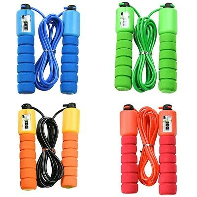 Kids Skipping Rope With Counter Children Exercise Jumping Game Fitness Use Mri • 3.65£