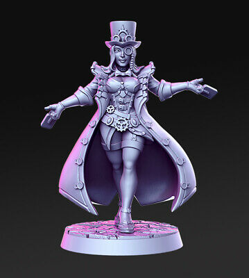 Diotta Greeze Steampunk Magician Compatible With AoS,Warhammer Fantasy,RPG,D&D • 5£