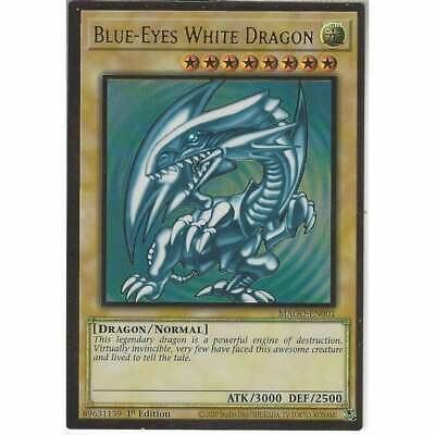 MAGO-EN001 Blue-Eyes White Dragon | 1st Edition | Premium Gold Rare Card YuGiOh • 20.95£