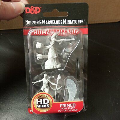 Nolzur`s Marvelous Miniatures Dungeons & Dragons Female Human Wizard  - New • 2.99£