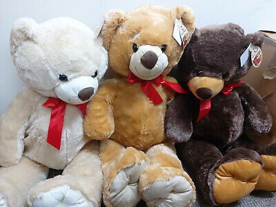 100cm Large Teddy Bear Soft Toy Great Mothers Day Present • 12£