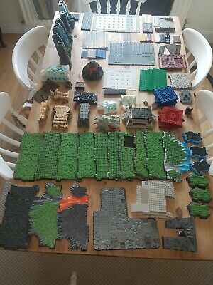 Huge Job Lot Of Mega Bloks Base Plates And Other Pieces - Dragons And Pirates. • 10£