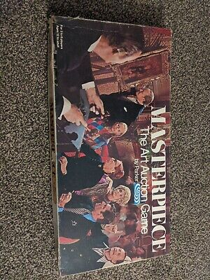 MASTERPIECE THE ART AUCTION GAME PARKER 1970 VINTAGE BOARD GAME Complete • 35£