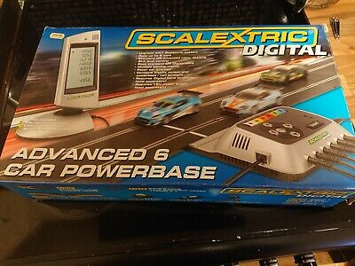 Scalextric C7042 6 Car Digital Power Base And Power Pack • 100£