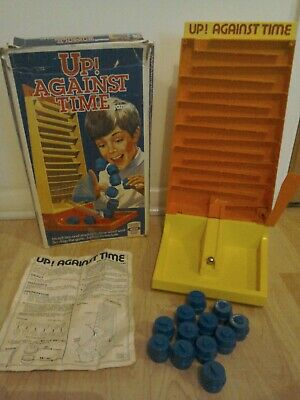 Up Against Time Game By Ideal Box Instructions Complete • 10£