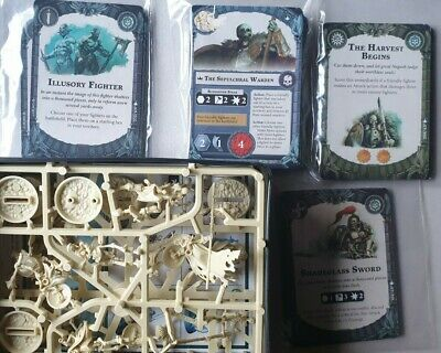 Warhammer Underworlds Sephulchural Guard Complete With All Cards • 16£