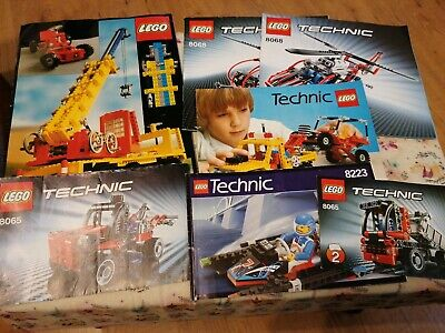 Lego Technic Instruction Manuals Only • 1.30£