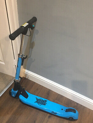 XOOTZ Element Blue Electric Scooter / Folds In Half / LED Light Up Wheels • 45£