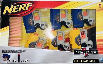 Super Rare Boxed Nerf Attack Unit Blaster Pack Very Collectible • 19.99£