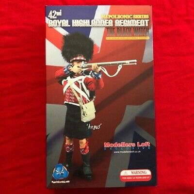 DID 1/6 Napoleonic Action Figure RARE Black Watch Highlander MINT, In Box • 125£