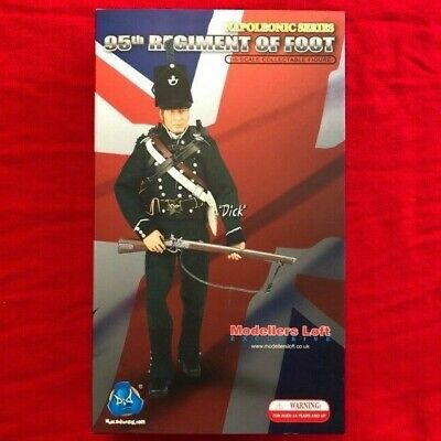 "DID 1/6 Napoleonic Action Figure RARE 95th Rifles ""Dick"" MINT, In Box • 125£"