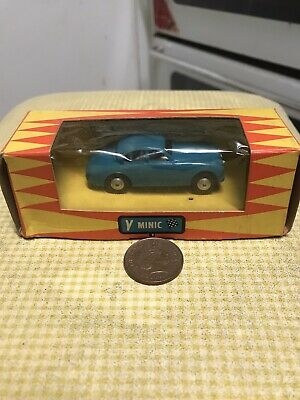 Vintage Minic Triang Jaguar, Very Good Condition With Box • 10£