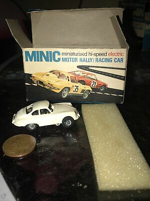 Vintage Minic Triang Motorways Toy Cars, Old Porche • 9.50£