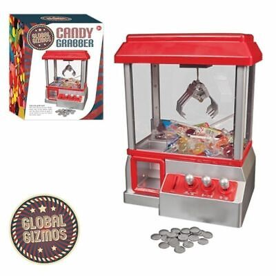Classic Arcade Candy Grabber Machine Fun Kids Interactive Toy Children Christmas • 22.99£